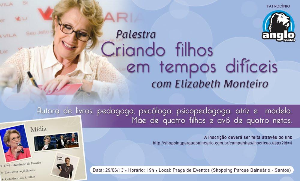 Palestra ELizabeth Monteiro em Santos