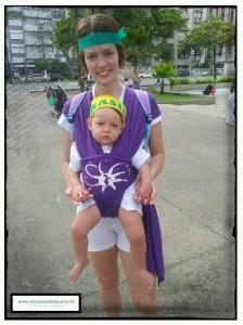 A pequena Theodora já lutando por um Brasil melhor!