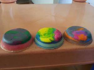 Todo colorido - cada parte que desenha, aparece uma cor diferente!