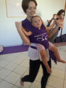 A Fernanda é a professora junto com sua filha linda Theodora